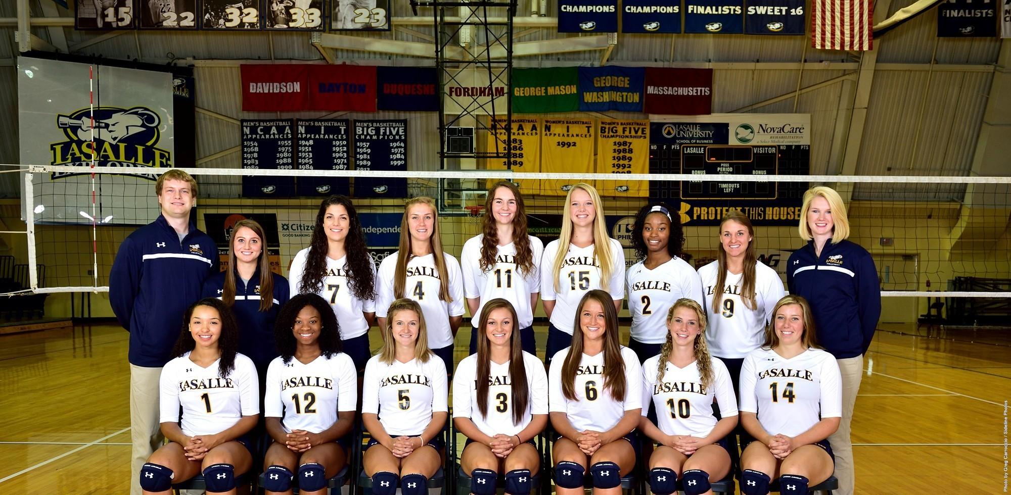 Volleyball Team Photo 2014