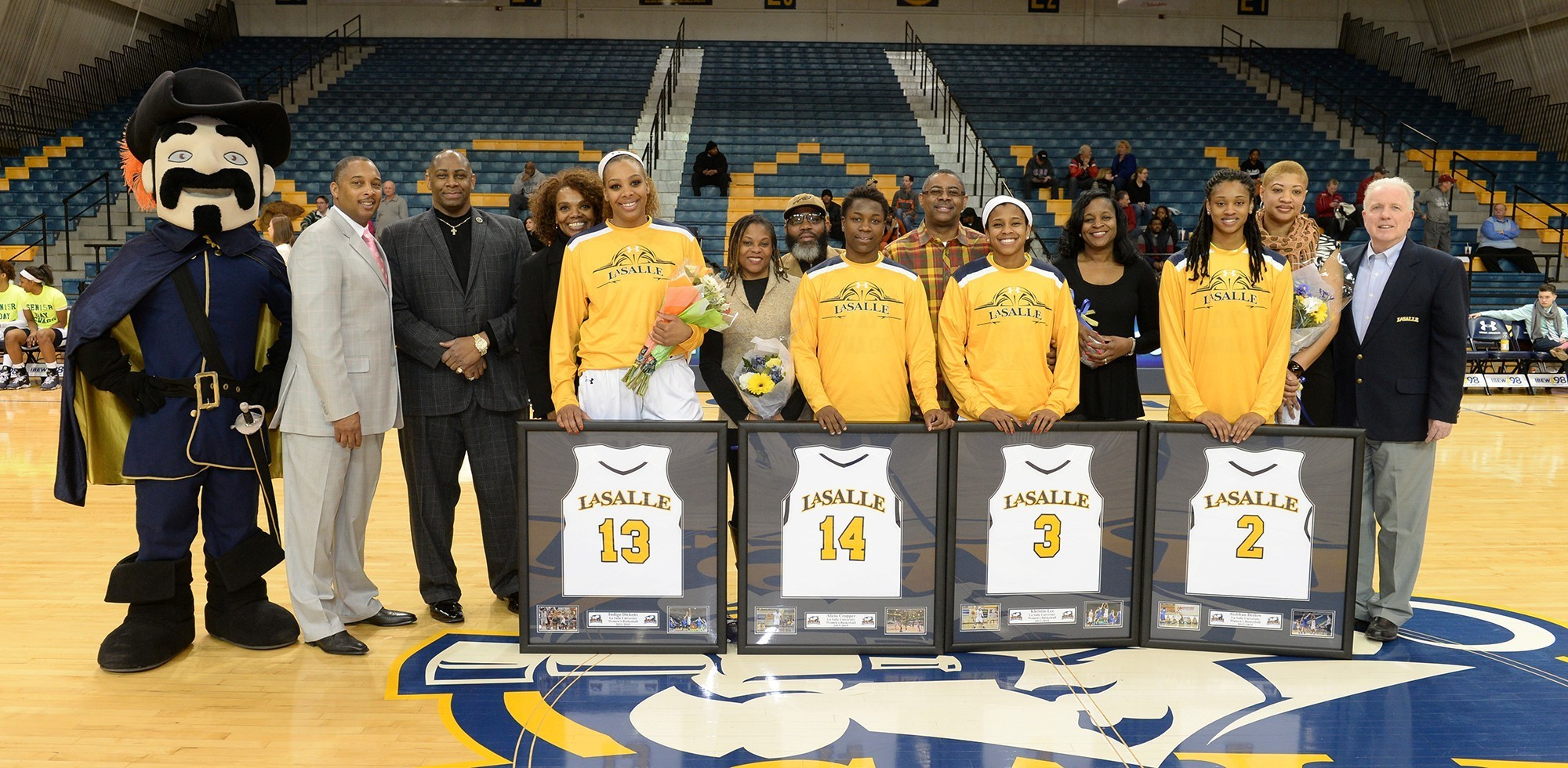 WBB Senior Day 2015